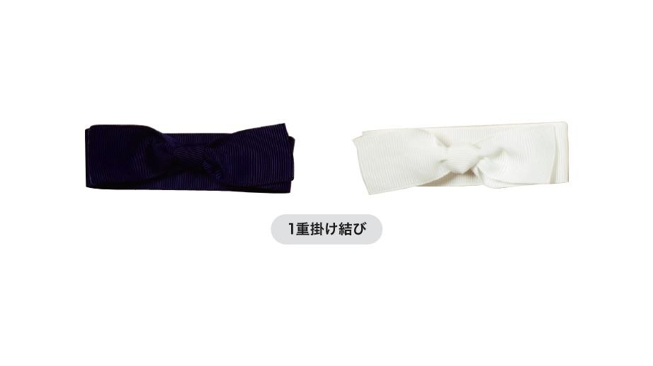 各種リボン結びの3目の画像