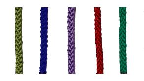 紐の色・太さ見本のリンク